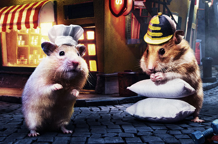 Hungry Hungry Hamsters